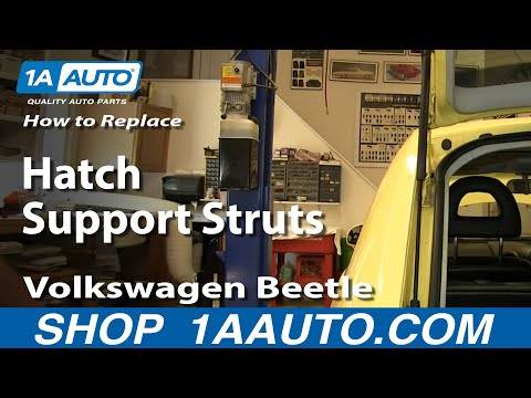 How to Replace Lift Support 98-10 Volkswagen Beetle