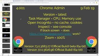 Chrome Admin 4.001 Learn Google Earth Studio