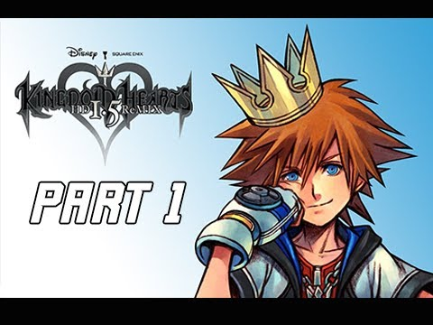 Kingdom Hearts 1.5 Final Mix Walkthrough Part 1 - Never Played This Game (PS4 Let's Play)