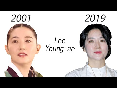 Lee Young-ae Before & After