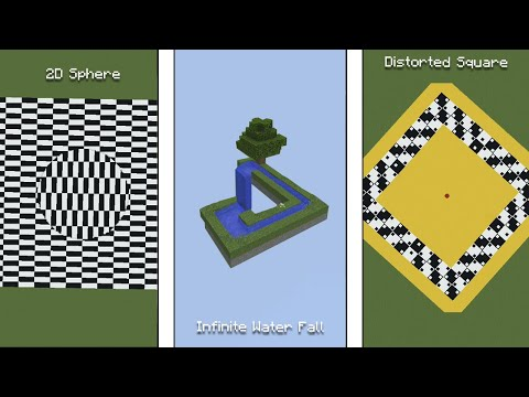 Minecraft And Its Best Optical Illusions