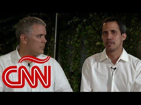 ¿Intervención militar de EE.UU. en Venezuela? Esto responden Guaidó y Duque