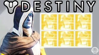 destiny exotic engram opening 6 exotic engrams decoding live w unknown player chest exotics