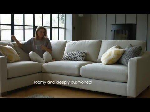 Fabric Modular Corner Sofa - Ambrose | Furniture Village