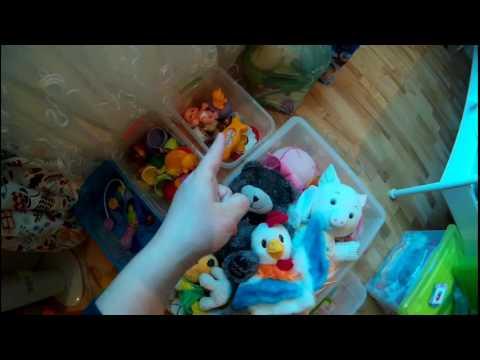 Гардеробные для игрушек