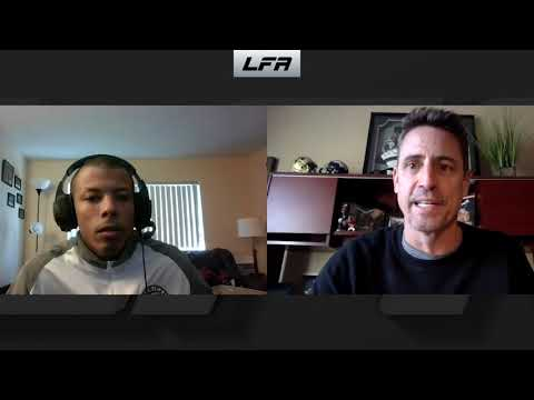 Bruno Oliveira talks to Ron Kruck (LFA 98)