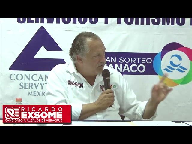 En alianza, municipio y empresarios rescataremos Veracruz: Exsome