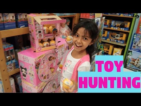 TOY HUNTING L.O.L SURPRISE LIL SISTERS & FUNVILLE SPARKLE GIRLZ