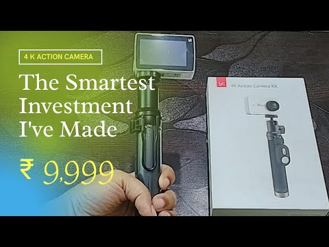 Yi Action Camera Special Price ₹ 9,999   Yi Vlogging Camera For Beginner   Unboxing Video