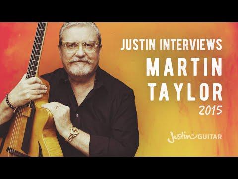 Jazz Fingerstyle Legend Martin Taylor Interview - Guitar Lesson Tutorial (MA-009)