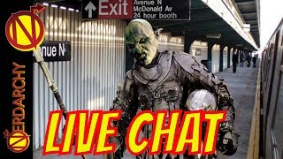 Orcs of New York: The Series- Nerdarchy Live Chat #296