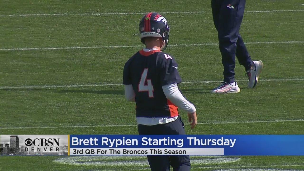 Brett Rypien to start for Denver Broncos against New York Jets
