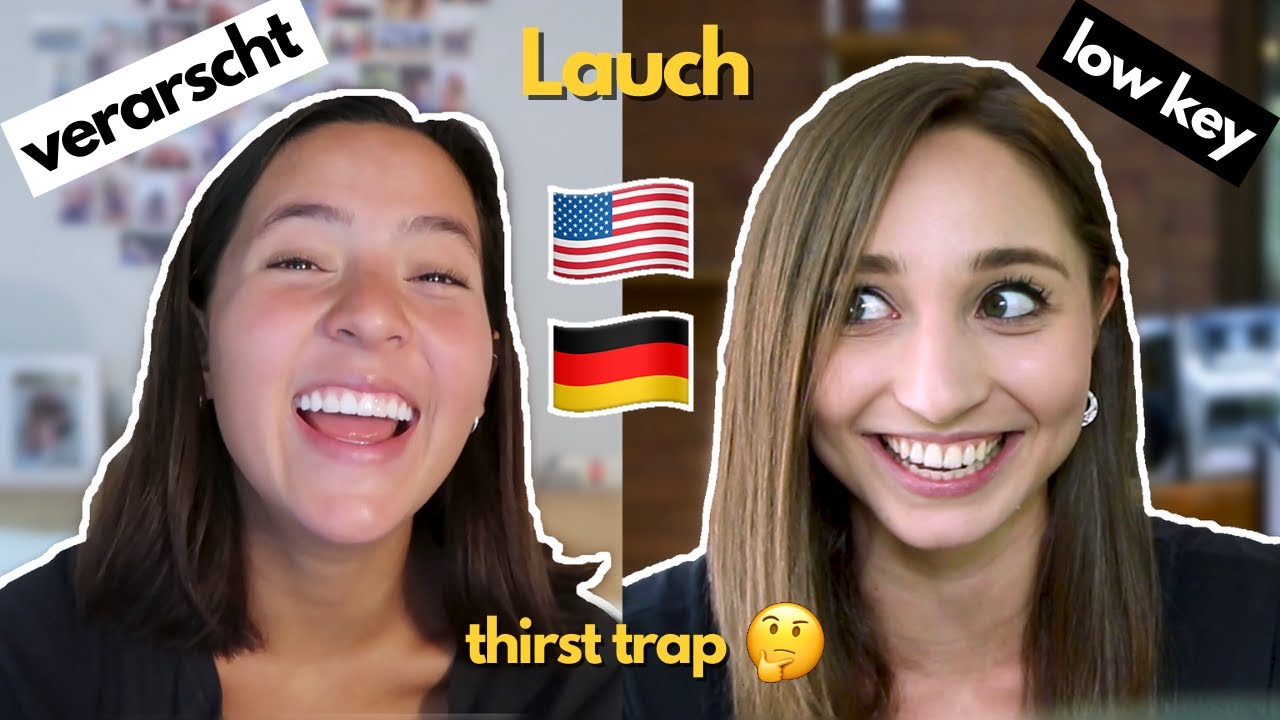 German & American Slang w/@Montana Showalter Pt. 1 | German Girl in America