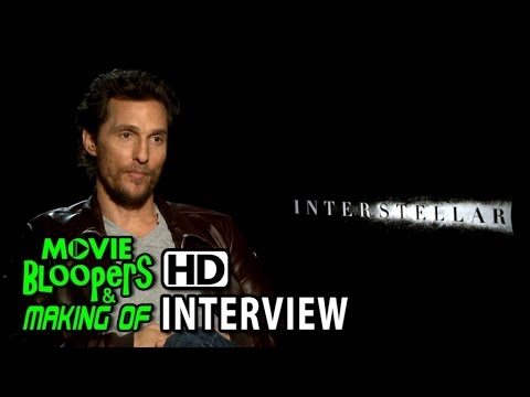 Interstellar (2014) Interview - Matthew McConaughey (Cooper)