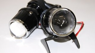 ксеноновые противотуманные линзы h3 / hid lens h3