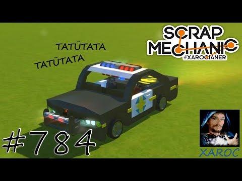 Scrap Mechanic - FanCreation - Super US Police Car  #784 🐶 deutsch / german