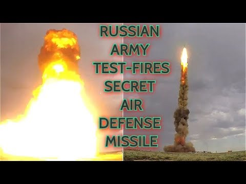 SUCCESS! Russia Tests Its New Top Secret S-500 (?) Air Defense Interceptor