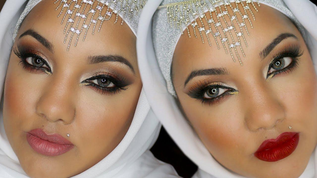 Walima Arabic Wedding Makeup