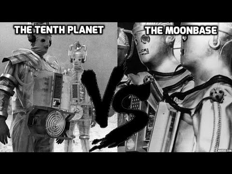 Doctor Who - The Tenth Planet Vs The Moonbase