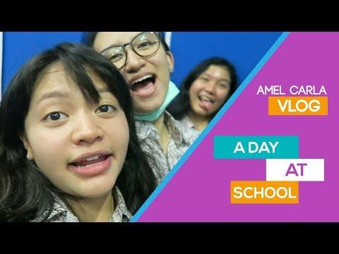 AMEL CARLA - A DAY AT SCHOOL #VLOG Mp3