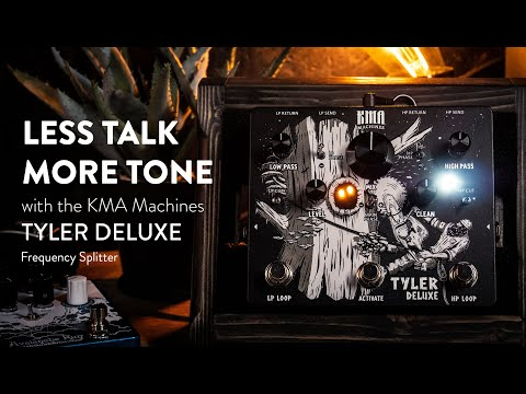 KMA Machines TYLER DELUXE Demo - Endless Frequency Splitting Powers