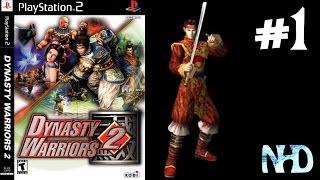 Let's Play Dynasty Warriors 2 Zhou Yu (Wu) The Yellow Turban Rebellion
