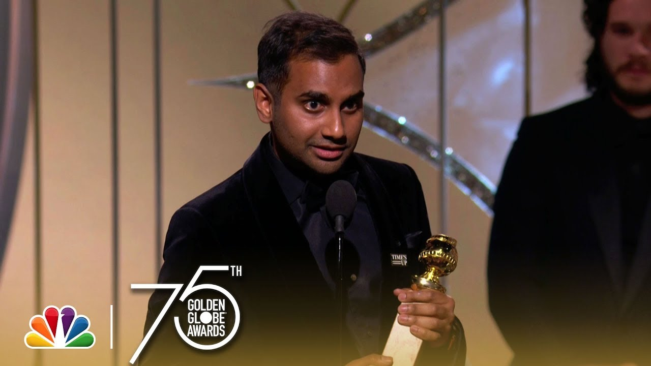 Aziz Ansari Wins Best Actor in a TV Series, Comedy at the 2018 Golden Globes