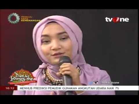 Fatin Shidqia - Proud Of You Moslem Damai Indonesiaku Tabligh Akbar Ramadhan 17 Juni 2016