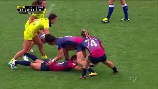 Women's 7s Sydney 2018 Russia vs Australia