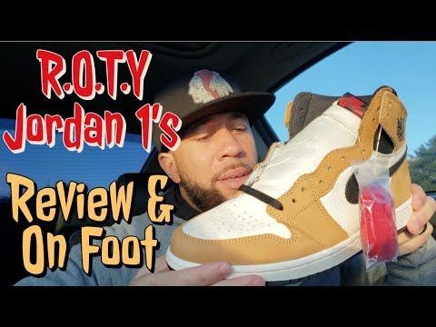 ceee0cb89c3d6a R.O.T.Y Jordan 1 s Review and On Foot - YouTube