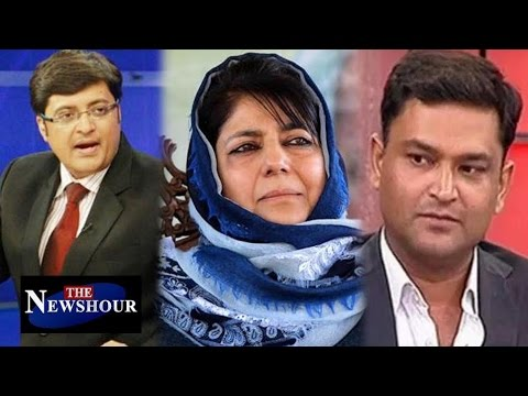 Mehbooba Mufti Responsible for Kashmir Unrest?: The Newshour Debate (22nd Aug 2016)