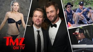 Chris Hemsworth Loves His Wife Elsa Pataky's Butt in a Bikini | TMZ TV