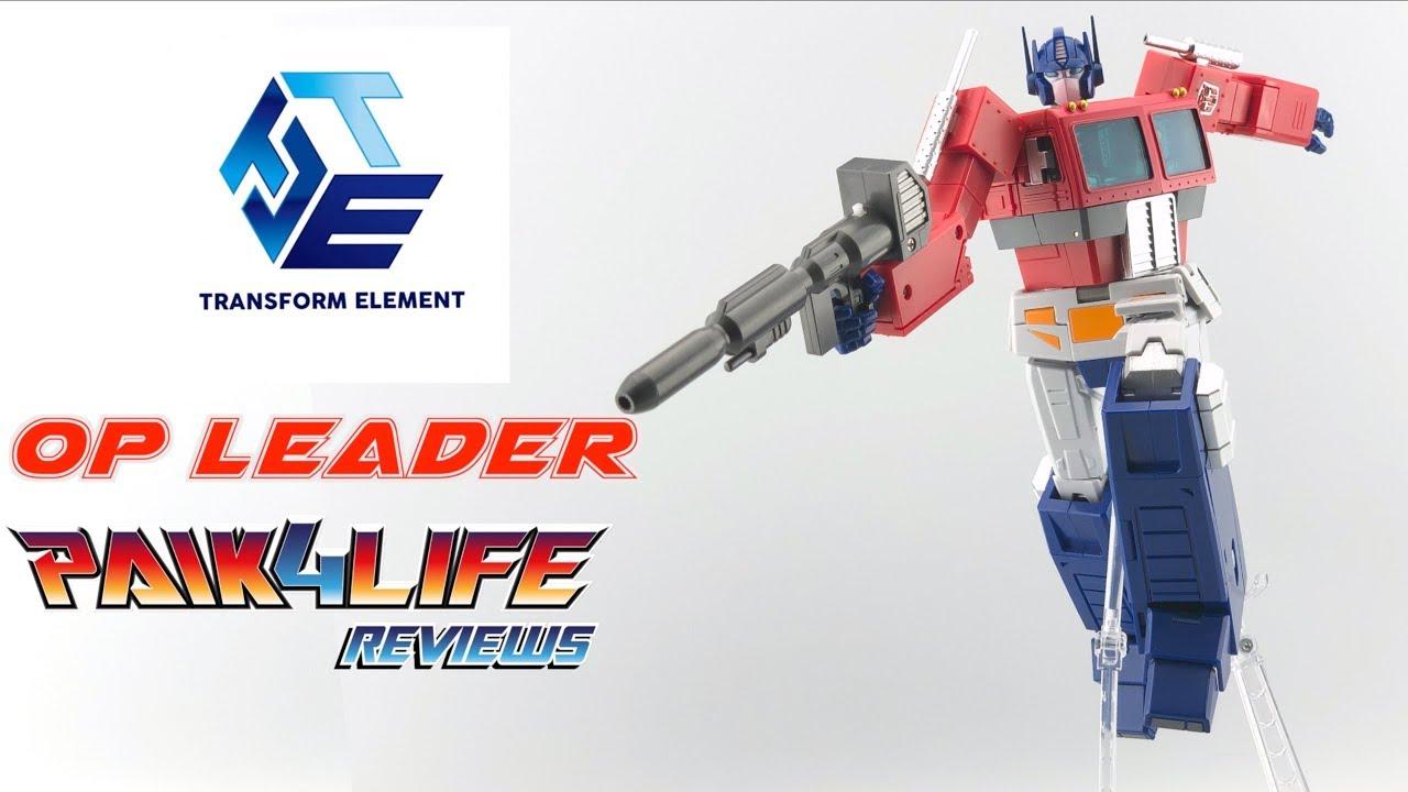 Transformers Transform Element TE-01 OP Leader Optimus Prime Figure 2nd Version