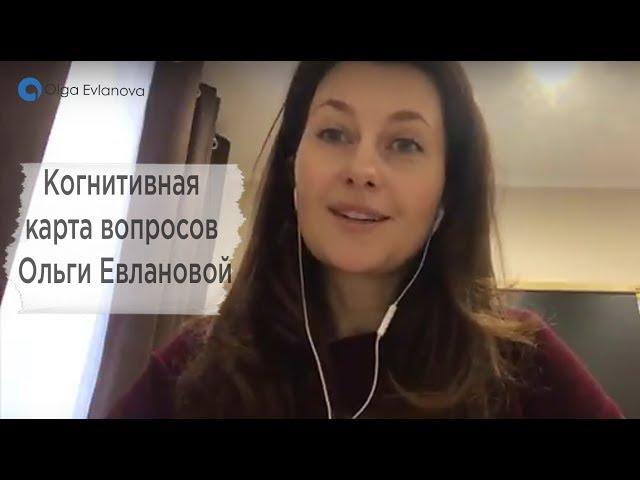 Когнитивная карта вопросов Ольги Евлановой