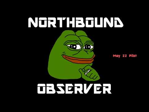Northbound Observer Podcast No.1 - Sophie Labelle, Blockchain/Cryptocurrency, Trump Mideast Visit