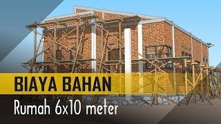 Hitung BIAYA BAHAN Rumah Minimalis 6x10 (VOLUME BAHAN)