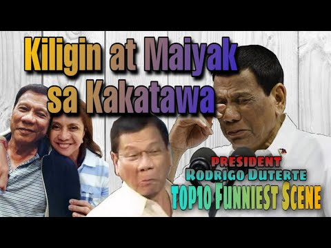 Funniest President | Rodrigo Duterte | Top 10 epic scenes