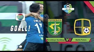 Goal Paulo Sitanggang - Persebaya Surbaya (1) vs Barito Putera (2) | Go-Jek Liga 1 bersama Bukalapak
