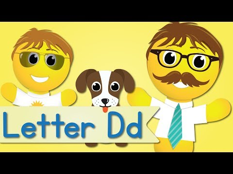Letter D Song (Official Letter D Music Video by Have Fun Teaching)