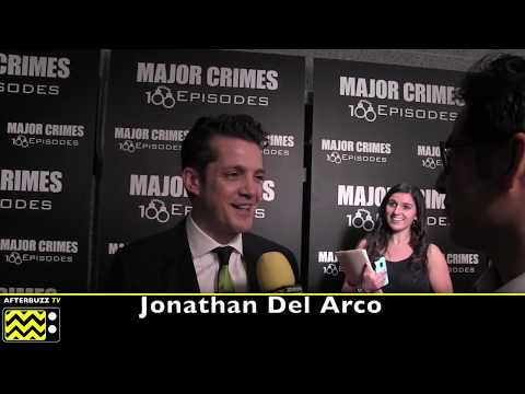 Jonathan Del Arco  I  Major Crimes 100 Episodes Celebration  I  2017