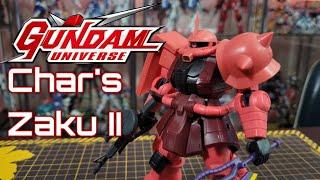 Gundam Universe: Char's Zaku II Review