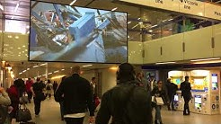 dnp Supernova Infinity Screen boosts visual arts project at London station