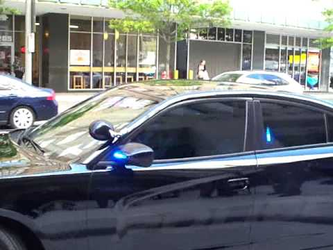 HPD Chief McClellan and Mario WIlliams test drive new Dodge Chargers