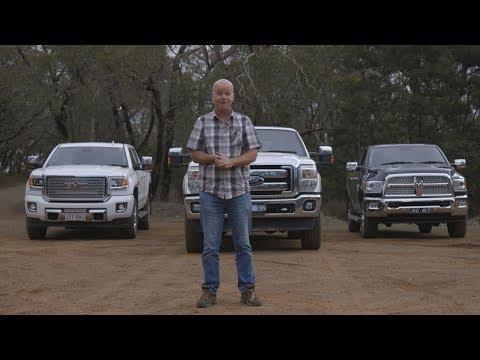Ford F250 vs GMC Denali vs RAM 2500 Pickup comparison review | Farms & Farm Machinery
