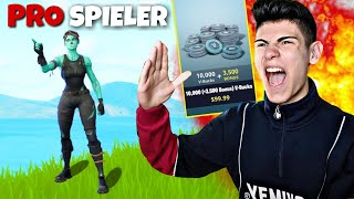 9 JÄHRIGER PRO will 1vs1 um 13.500 V-Bucks! (FORTNITE)