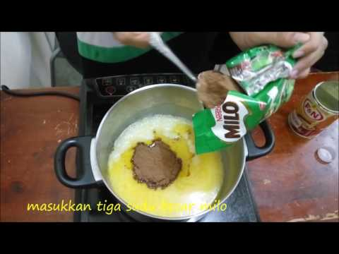 cara-cara membuat kek batik