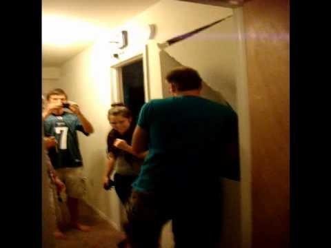 drywall door prank 2
