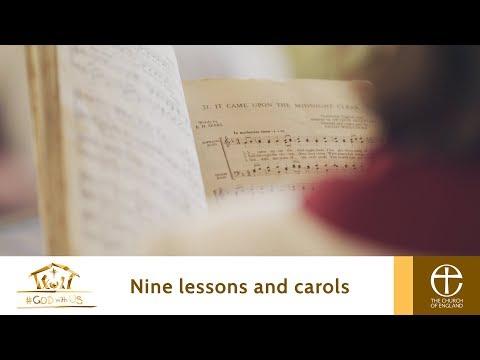 Church of England Christmas 2017 - Nine Lessons & Carols (#GodWithUs)