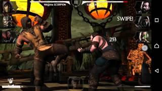 Mortal Kombat X Android Ninjutsu Scorpion