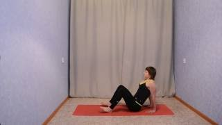 Дыхание Бодифлекс в сочетании с асанами Хатха йоги.